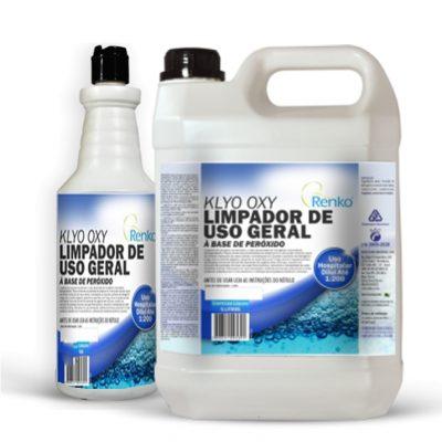KLYO OXY | À Base de Peróxido  LIMPADOR DE USO GERAL