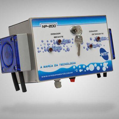 """Dosador para Máquina de Lavar Louças de ciclo fixo """"Estacionária"""" Detergente e Secante"""