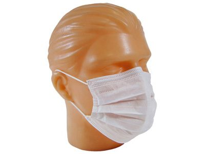 Máscara Dupla com Elástico Descartável